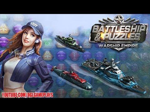 Battleship & Puzzles: Warship Empire (Android IOS APK)