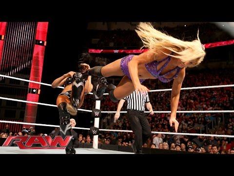 Alicia Fox vs. Charlotte: Raw, February 8, 2016