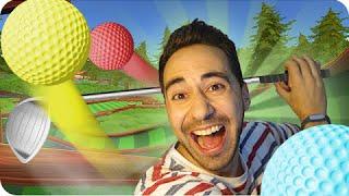 PELOTAS REVOLTOSAS! | Sara Gona y Luh en Golf with Friends