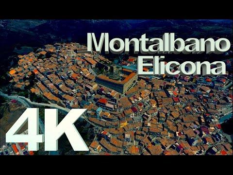 """InFlight History 4K - Montalbano Elicona 4K """"Il Borgo più bello d'Italia"""" (Messina) Drone 4K View"""