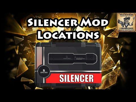 Deus Ex Mankind Divided - Silencer Locations