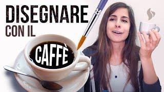 Cercare di DISEGNARE COL CAFFÈ ma fallire MISERAMENTE (quasi) 🐸 Fraffrog