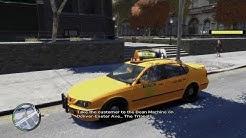 GTA IV - New York City TAXI DRIVER! Real Life Cab Driver Job/Work Mods!