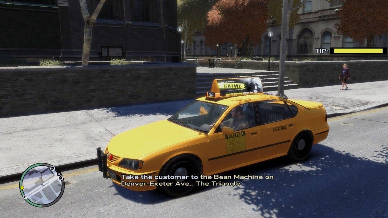 Driving Jobs Nyc >> Gta Iv New York City Taxi Driver Real Life Cab Driver Job Work Mods