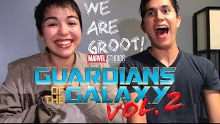 WE! ARE! GROOT! Guardians of the Galaxy Full online 2 Reaction