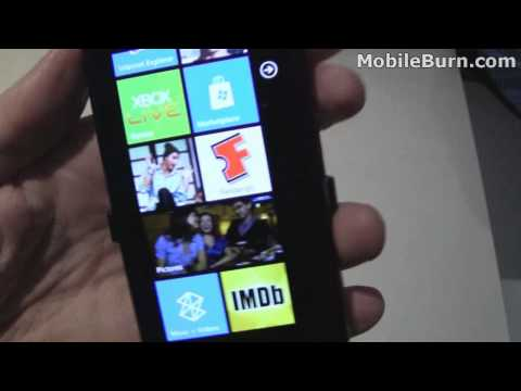 Samsung Omnia 7 / Focus (AT&T) - first look