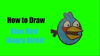 How to Draw Blue Bird - Jake (Angry Birds)