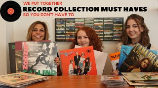 Record Collection Must Haves