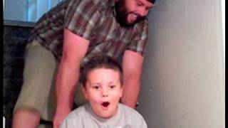 PUSHING KIDS DOWN THE STAIRS!