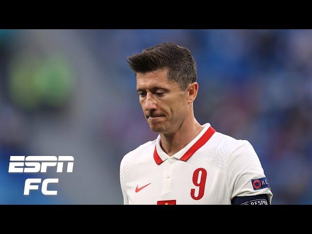 Robert Lewandowski couldn't stop Poland being mediocre vs. Slovakia at Euro 2020 - Burley | ESPN FC