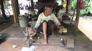 Spinning Thread--Cambodian-style! 2