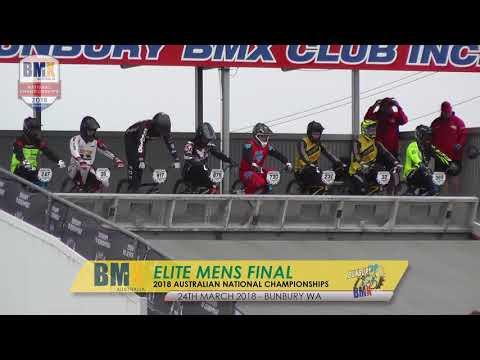 Elite Mens Final - 2018 Australian National BMX Championships