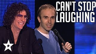 Quick Comedian Gets All Round Laughs on America's Got Talent   Got Talent Global