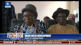 News@10: Acting President Meets Niger Delta Leaders, Traditional Rulers In Bayelsa 10/02/17 Pt.1