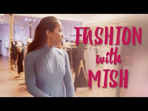 Michelle Phan Tries Traditional Vietnamese Fashion