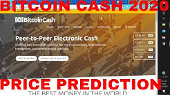 Bitcoin Cash Price Prediction 2020 Bitcoin Cash News Today BCH Bitcoin Cash Price Analysis