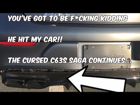The Cursed C63s Saga Continues.. He Hit My F*cking Car At A Red Light....