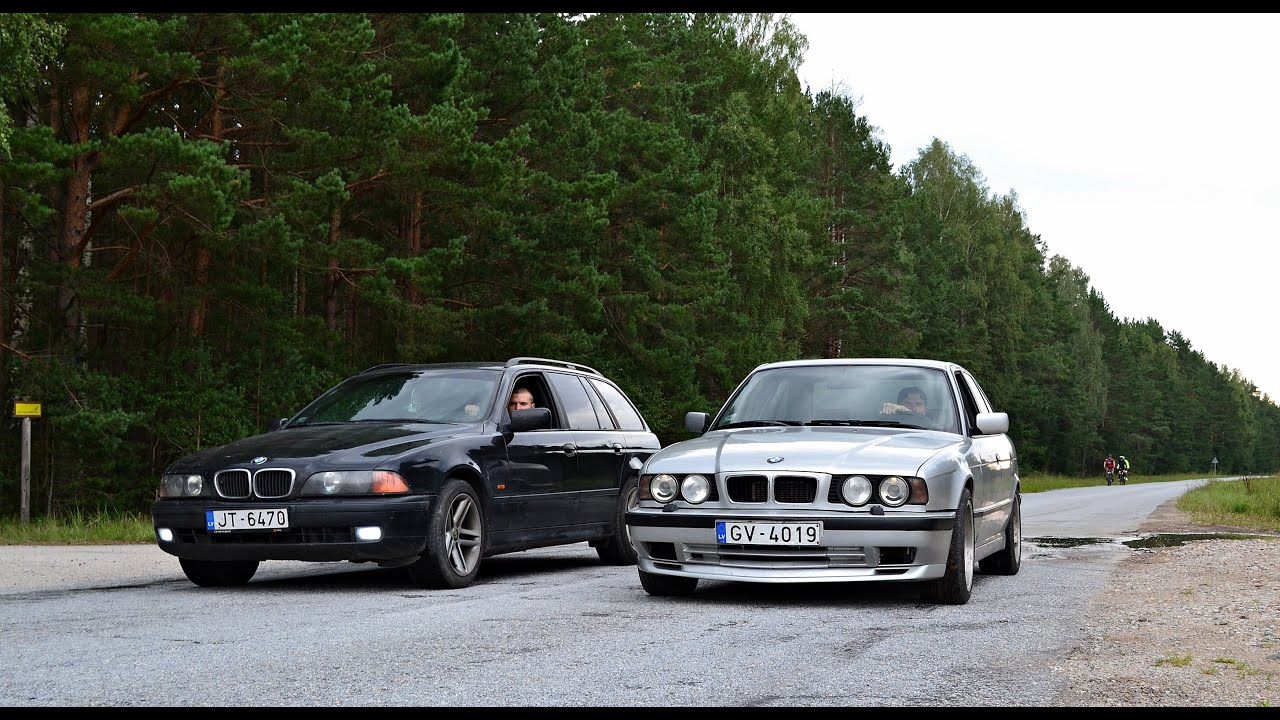 bmw e34 525 tds vs bmw e39 525 tds youtube. Black Bedroom Furniture Sets. Home Design Ideas