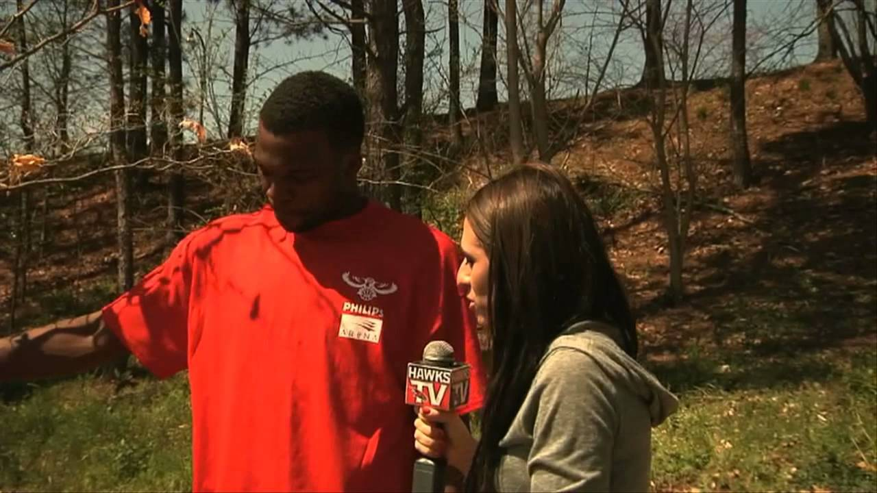 The Atlanta Hawks Plant Trees for Green Week