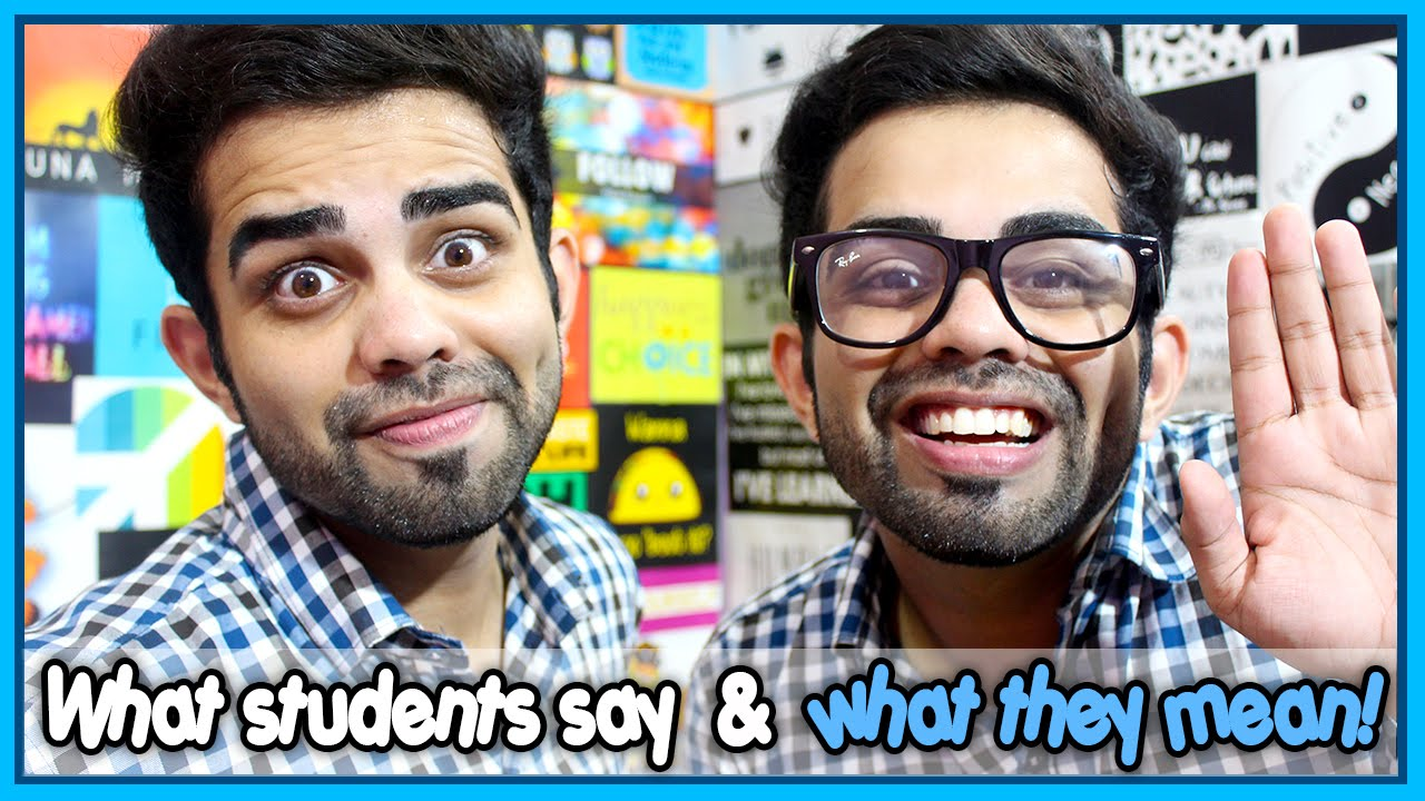 Happy Teacher's Day - What students say & what they mean | The Rajat Code