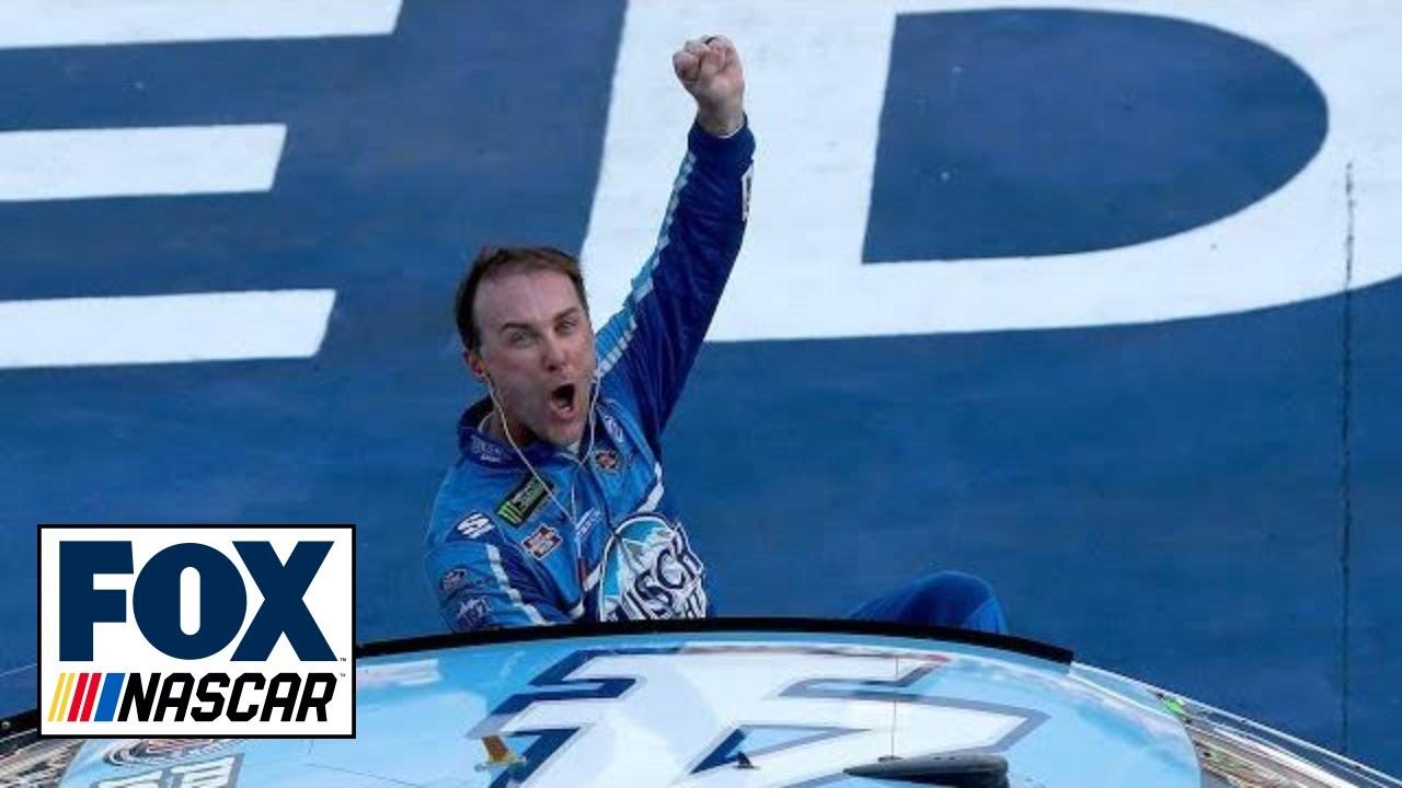 Winner's Weekend: Kevin (and Keelan) Harvick - Michigan   NASCAR RACE HUB