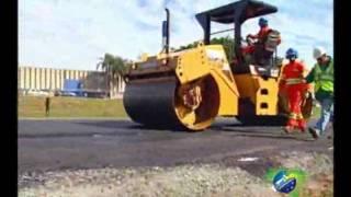 Pneus velhos viram asfalto ecológico para estradas...