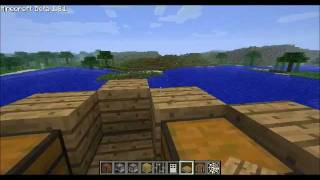minecraft - How to build a pirate ship - full guide
