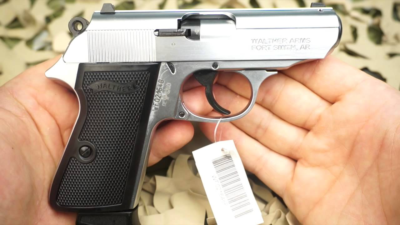 Walther PPK/S 22lr Semi Auto Stainless Steel Pistol Review - New World  Ordnance
