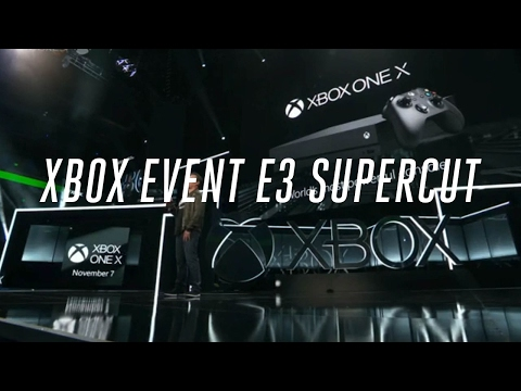Microsoft Xbox E3 2017 press conference in 10 minutes