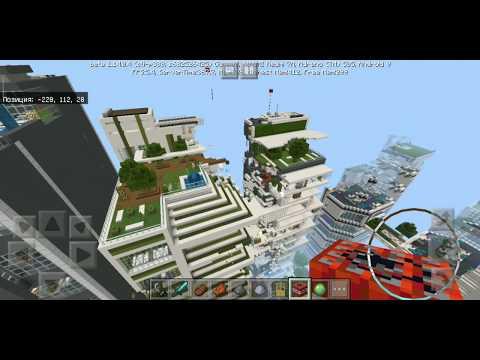 ВЫЖИВАНИЕ В МАЙНКРАФТЕ С ПАМПУШЕЙ! ВЗРЫВАЕМ ГОРОД! - Survival Minecraft#2