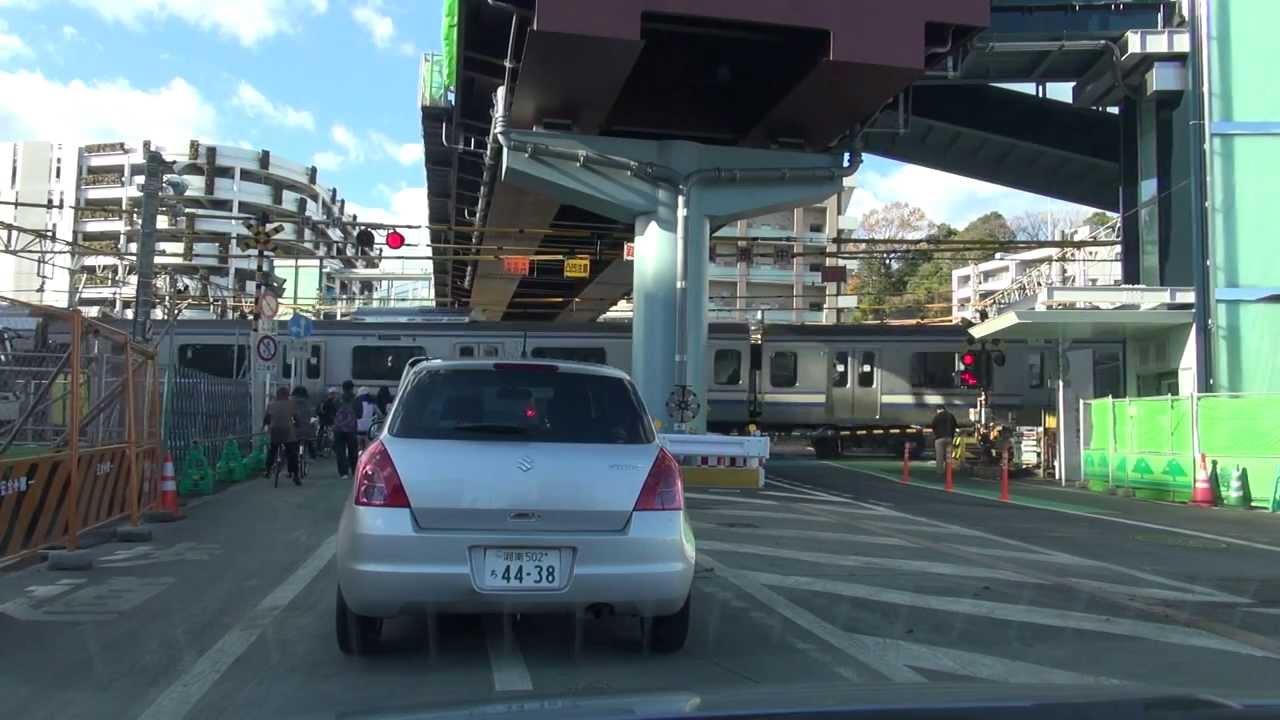 国道1号:不動坂交差点~戸塚大踏切(東海道踏切)~バスセンター前 ...
