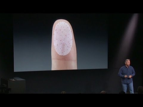 New iPhone 5S with fingerprint security