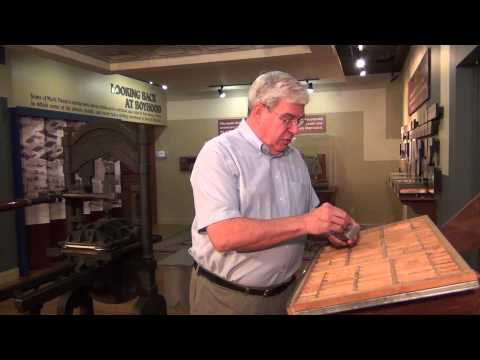 Typesetting and Printing Press