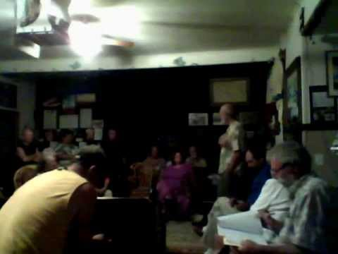 Henry Curtis discusses Hawaii Energy issues at Pahoa Village Museum - last part