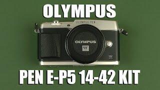Розпакування Olympus PEN E-P5 14-42mm Kit