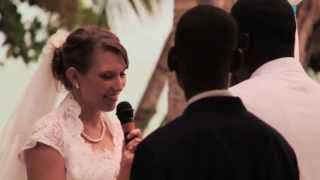 HAITI: PHILIPSON AND KELSEA CASWELL GEORGES WEDDING DAY !