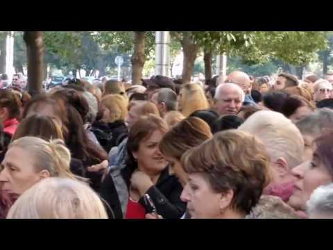 Mothers protest In Montenegro