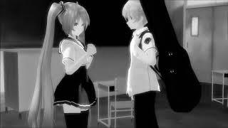 мий клип Я не любил её,но...Грустная аниме история.. лен и муку