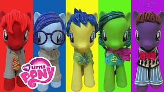 Play Doh INSIDE OUT Joy Sadness Disgust Anger Fear Inspired Costumes My Little Pony