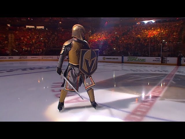 Golden Knights open SCF Game 5 with amazing pregame show