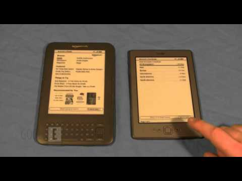 New Amazon Kindle vs 3rd Generation Kindle Keyboard