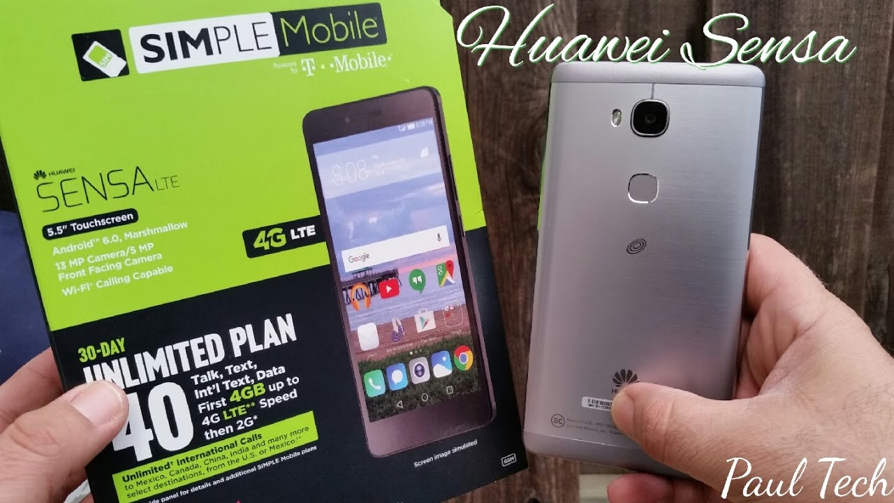 Huawei Sensa LTE Unboxing and first impressions