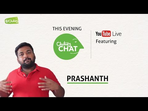 ItIsPrashanth on Paid Reviews - Chutney Chat Live Ep #5