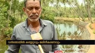 Mambuzha river is in threat of encroachment and waste disposal
