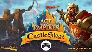 AGE OF EMPIRES: CASTLE SIEGE Android Gameplay