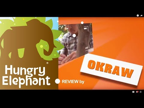 Hungry Elephant Organic Store & Café; Review by okraw.com -  1 March 2018