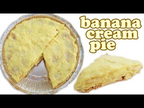 Banana Cream Pie Recipe - Jello Pudding Cake - Bananas Dessert Recipes - Quick Easy Desserts Jazevox