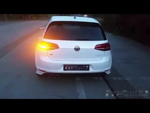 VW Golf VII R Pacecar Blinken