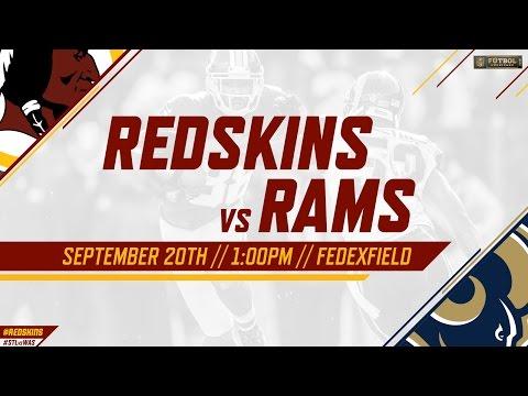 Redskins Radio Booth LIVE vs. Rams