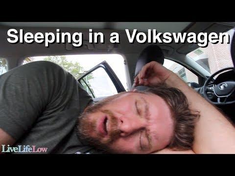 Can you Sleep inside a Volkswagen Golf, Alltrack or Sportwagen?